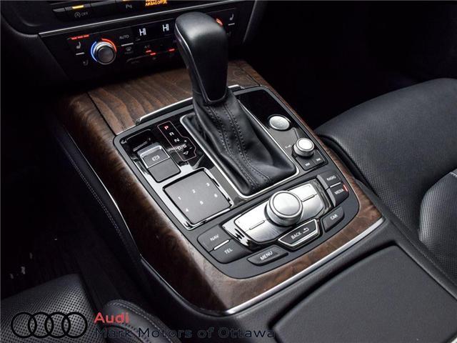 2016 Audi A6 2.0T Technik (Stk: PM214) in Nepean - Image 13 of 30