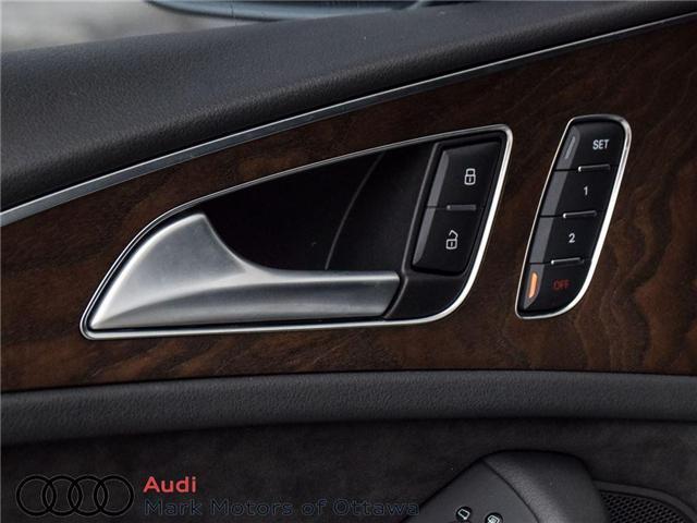 2016 Audi A6 2.0T Technik (Stk: PM214) in Nepean - Image 14 of 30