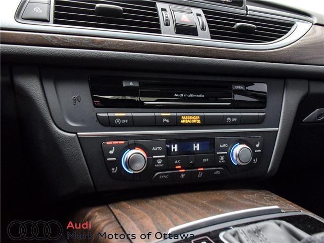 2016 Audi A6 2.0T Technik (Stk: PM214) in Nepean - Image 17 of 30