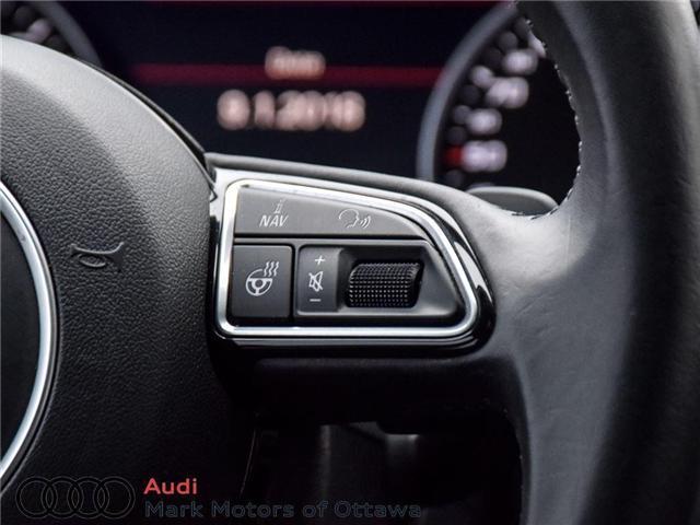 2016 Audi A6 2.0T Technik (Stk: PM214) in Nepean - Image 21 of 30