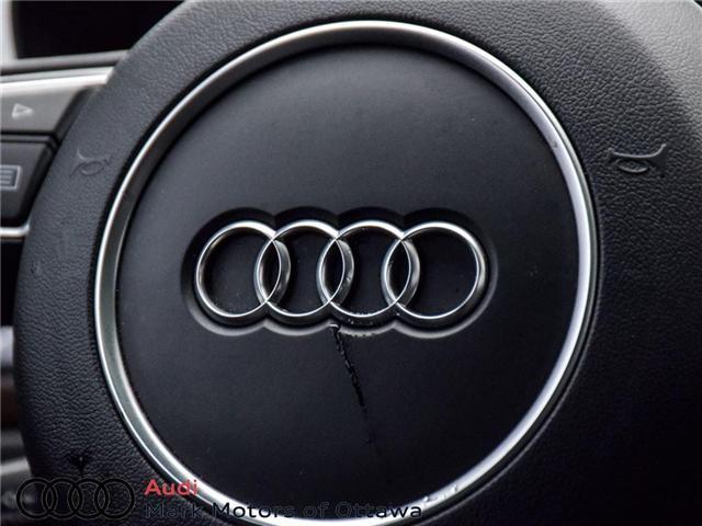2016 Audi A6 2.0T Technik (Stk: PM214) in Nepean - Image 24 of 30
