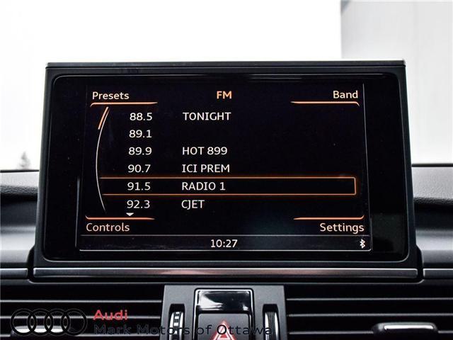 2016 Audi A6 2.0T Technik (Stk: PM214) in Nepean - Image 28 of 30