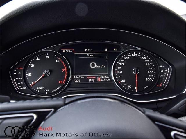 2017 Audi A4 2.0T Progressiv (Stk: 89812) in Nepean - Image 16 of 30