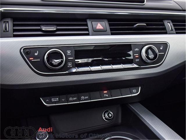 2017 Audi A4 2.0T Progressiv (Stk: 89812) in Nepean - Image 18 of 30