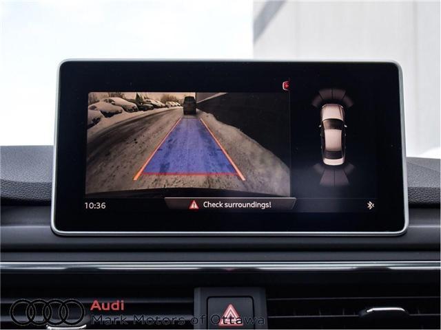 2017 Audi A4 2.0T Progressiv (Stk: 89812) in Nepean - Image 19 of 30