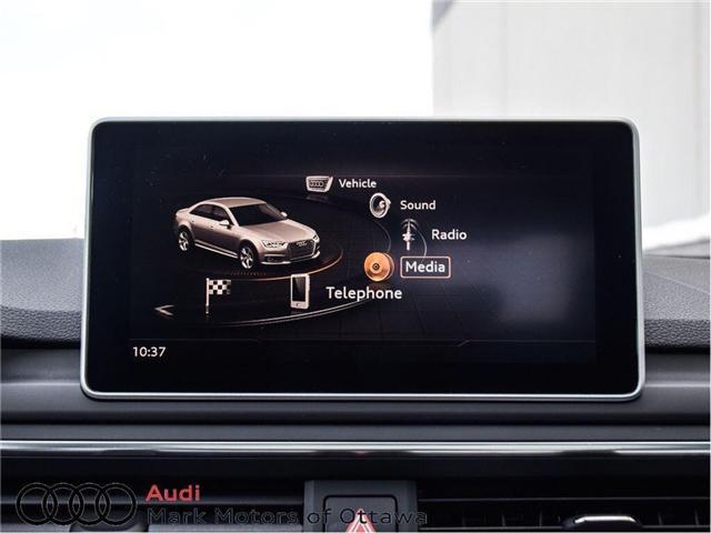 2017 Audi A4 2.0T Progressiv (Stk: 89812) in Nepean - Image 23 of 30