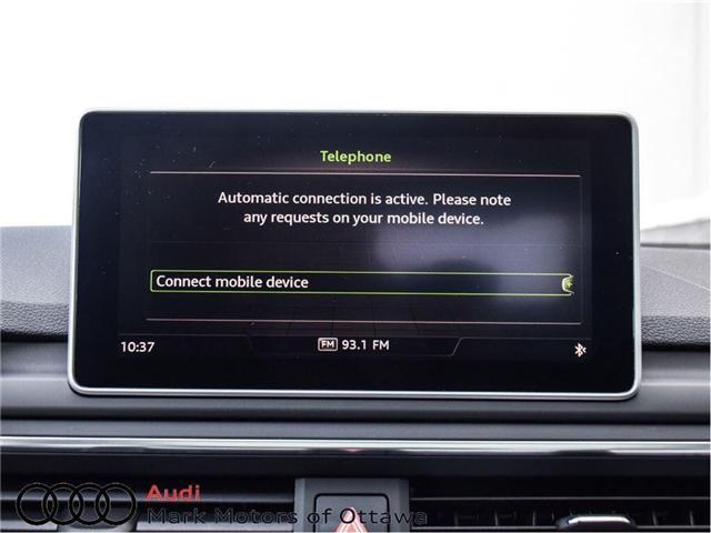 2017 Audi A4 2.0T Progressiv (Stk: 89812) in Nepean - Image 24 of 30