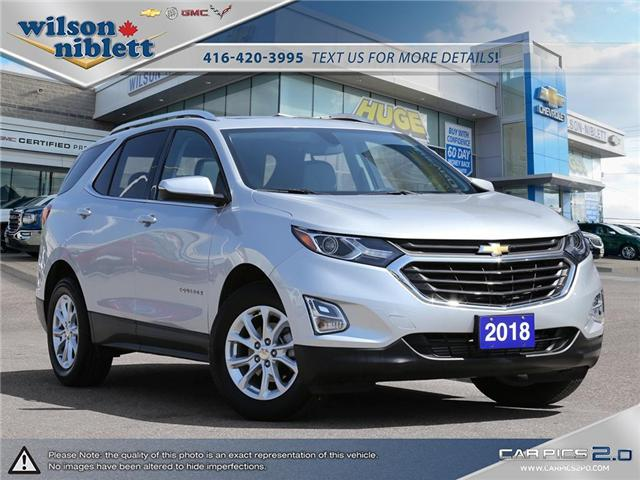 2018 Chevrolet Equinox 1LT (Stk: P203470) in Richmond Hill - Image 1 of 29
