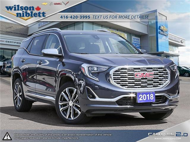 2018 GMC Terrain Denali (Stk: P174597) in Richmond Hill - Image 1 of 29