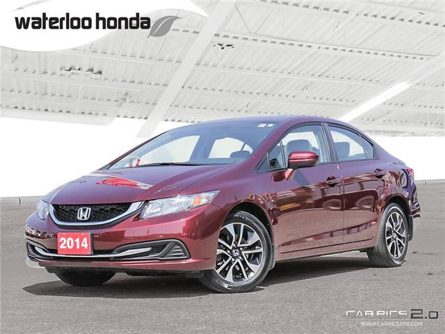 2014 Honda Civic EX (Stk: U3844) in Waterloo - Image 1 of 28