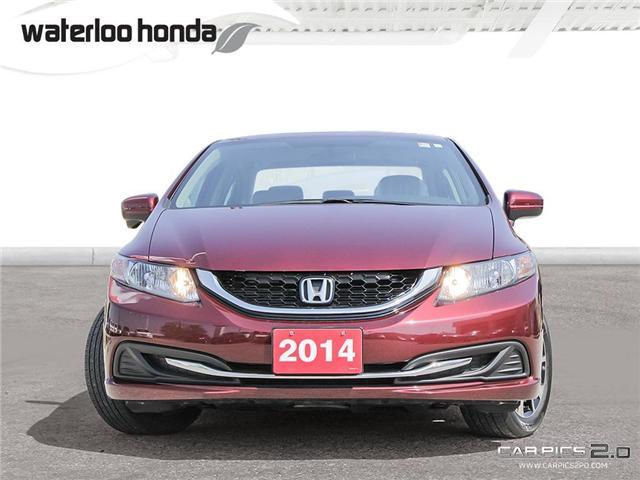 2014 Honda Civic EX (Stk: U3844) in Waterloo - Image 2 of 28