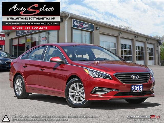 2015 Hyundai Sonata  (Stk: 1HNTA97) in Scarborough - Image 1 of 28