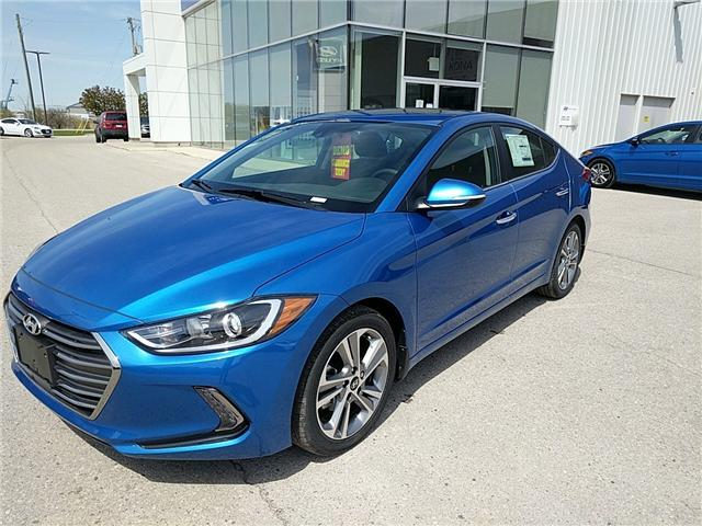 2017 Hyundai Elantra Limited SE (Stk: 70336) in Goderich - Image 1 of 11