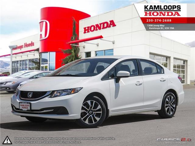 2015 Honda Civic LX (Stk: 13932A) in Kamloops - Image 1 of 25
