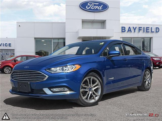 2017 Ford Fusion Hybrid SE (Stk: EX18694A) in Barrie - Image 1 of 24