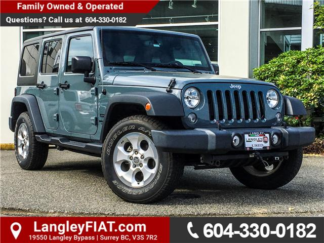 2015 Jeep Wrangler Unlimited Sport (Stk: J237306AA) in Surrey - Image 1 of 24