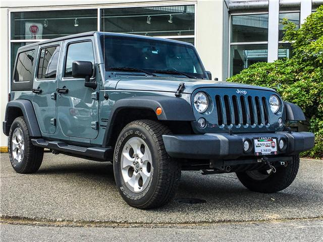 2015 Jeep Wrangler Unlimited Sport (Stk: J237306AA) in Surrey - Image 2 of 24