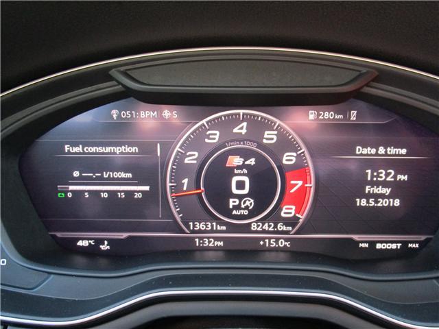 2018 Audi S4 3.0T Technik (Stk: 1804341) in Regina - Image 22 of 32