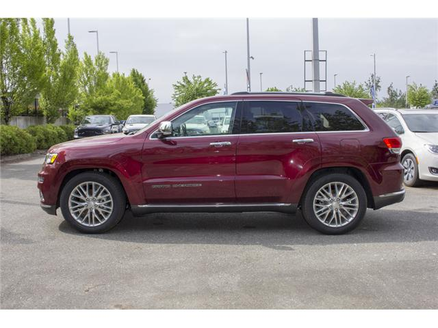 2018 Jeep Grand Cherokee Summit (Stk: J192733) in Abbotsford - Image 4 of 28