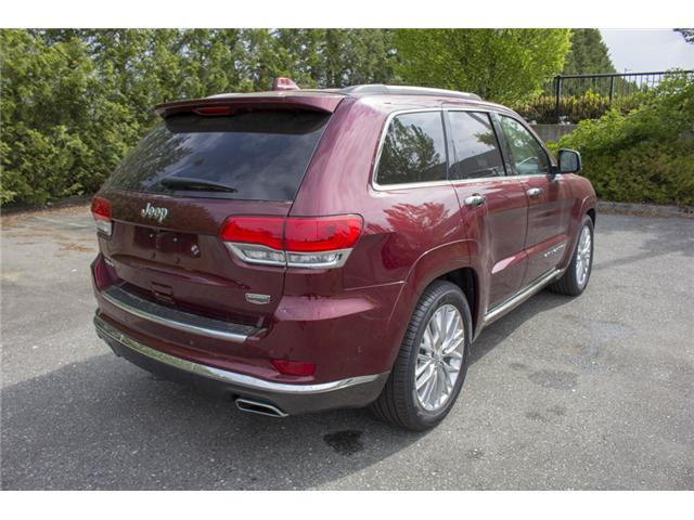 2018 Jeep Grand Cherokee Summit (Stk: J192733) in Abbotsford - Image 7 of 28