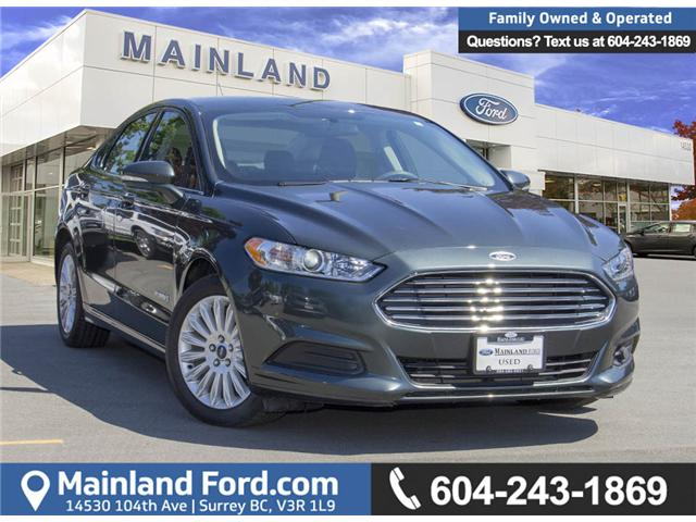 2015 Ford Fusion Hybrid SE (Stk: P71398) in Surrey - Image 1 of 28