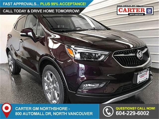 2018 Buick Encore Premium (Stk: 8K07600) in Vancouver - Image 1 of 7