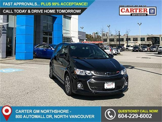 2018 Chevrolet Sonic LT Auto (Stk: 8N36210) in Vancouver - Image 1 of 7