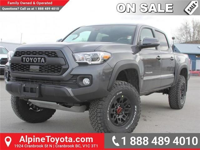2018 Toyota Tacoma TRD Off Road (Stk: X139176) in Cranbrook - Image 1 of 18