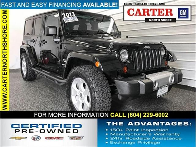 2013 Jeep Wrangler Unlimited Sahara (Stk: 8CL64231) in Vancouver - Image 1 of 26