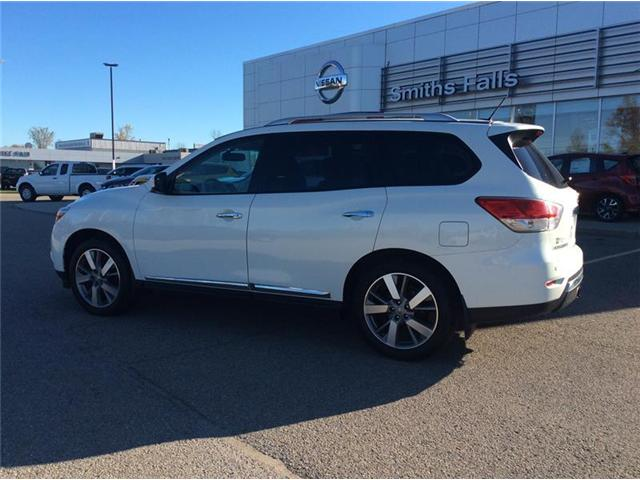 2013 Nissan Pathfinder Platinum (Stk: 17-488A) in Smiths Falls - Image 2 of 13