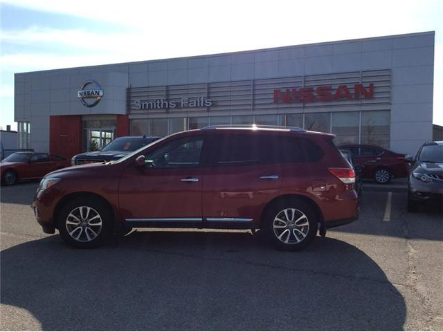 2015 Nissan Pathfinder SL (Stk: 18-128A1) in Smiths Falls - Image 1 of 13