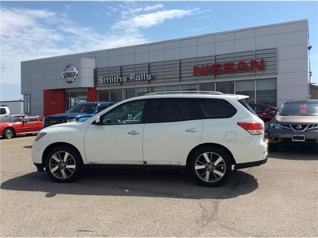 2015 Nissan Pathfinder Platinum (Stk: 18-168A) in Smiths Falls - Image 1 of 13