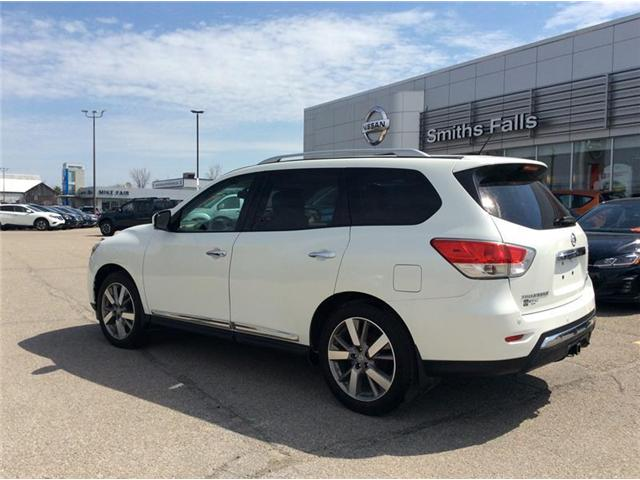 2015 Nissan Pathfinder Platinum (Stk: 18-168A) in Smiths Falls - Image 2 of 13