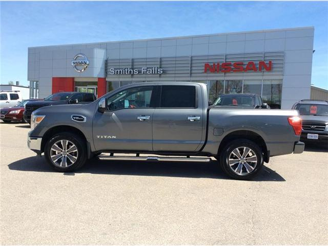 2017 Nissan Titan SL (Stk: P1932) in Smiths Falls - Image 1 of 13