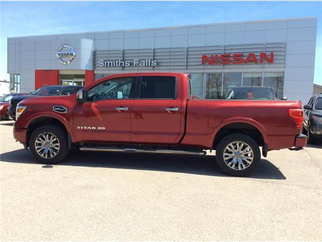 2017 Nissan Titan XD Platinum Reserve Gas (Stk: P1933) in Smiths Falls - Image 1 of 12