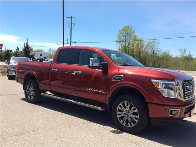 2017 Nissan Titan XD Platinum Reserve Gas (Stk: P1933) in Smiths Falls - Image 4 of 12