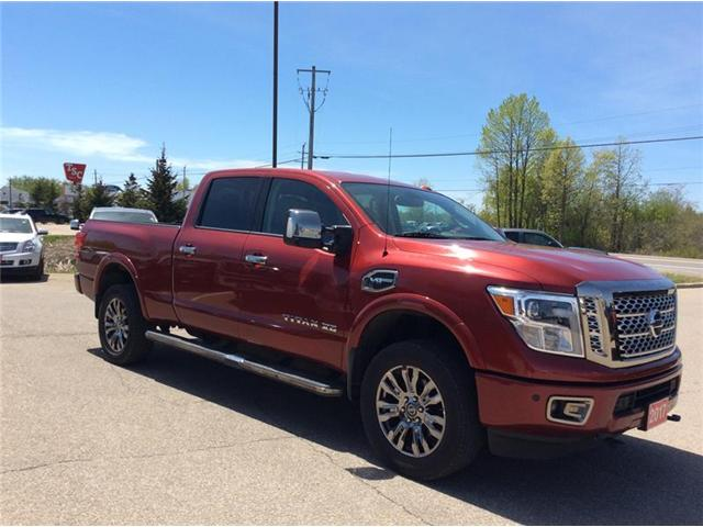 2017 Nissan Titan XD Platinum Reserve Gas (Stk: P1933) in Smiths Falls - Image 5 of 12
