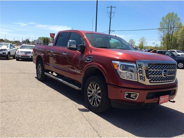 2017 Nissan Titan XD Platinum Reserve Gas (Stk: P1933) in Smiths Falls - Image 11 of 12