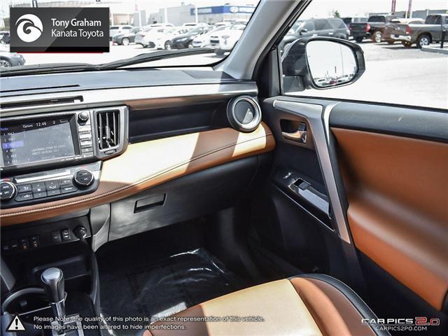 2016 Toyota RAV4 Limited (Stk: M2460) in Ottawa - Image 11 of 25