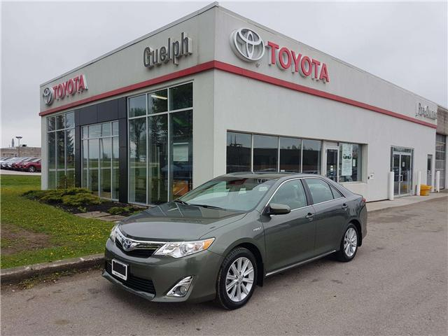 2013 Toyota Camry Hybrid XLE (Stk: a01281) in Guelph - Image 1 of 30