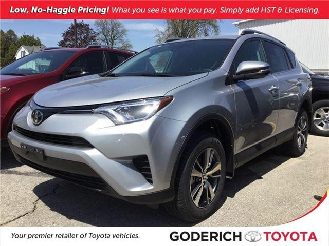 2018 Toyota RAV4 LE (Stk: N40417) in Goderich - Image 1 of 2