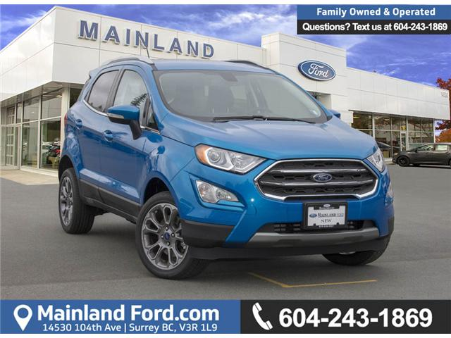 2018 Ford EcoSport Titanium (Stk: 8EC7176) in Surrey - Image 1 of 29