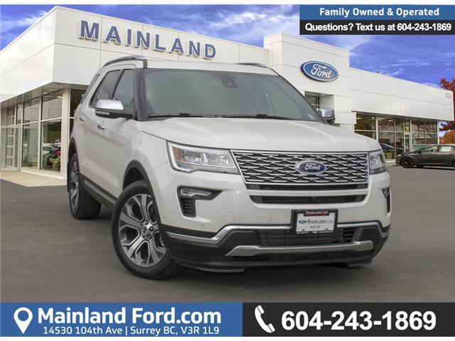2018 Ford Explorer Platinum (Stk: 8EX6345) in Surrey - Image 1 of 30