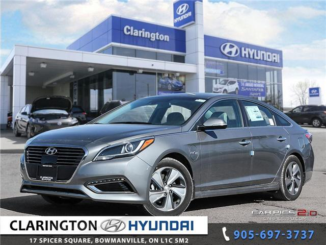 2017 Hyundai Sonata Plug-In Hybrid Ultimate (Stk: 18118) in Clarington - Image 1 of 27