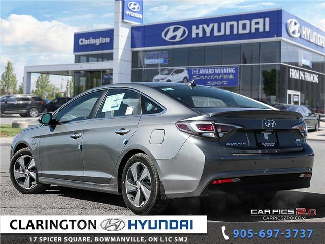 2017 Hyundai Sonata Plug-In Hybrid Ultimate (Stk: 18118) in Clarington - Image 4 of 27