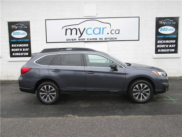 2015 Subaru Outback 3.6R Limited Package (Stk: 180430) in Richmond - Image 1 of 14