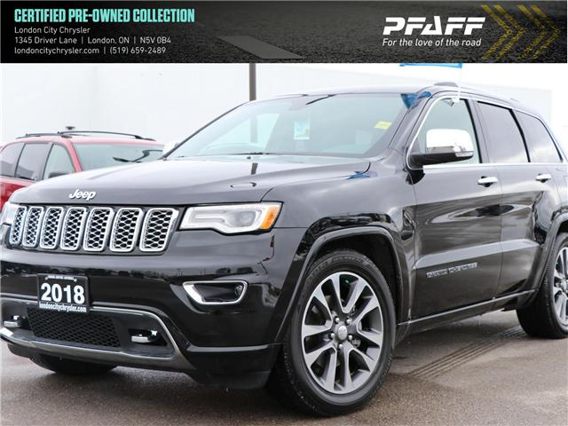 2018 Jeep Grand Cherokee Overland (Stk: U8422) in London - Image 1 of 30