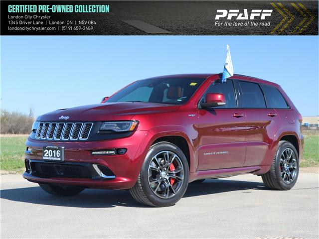 2016 Jeep Grand Cherokee SRT (Stk: 8173A) in London - Image 1 of 30
