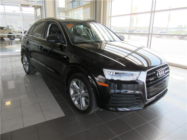 2017 Audi Q3 2.0T Technik (Stk: A3738) in Saskatoon - Image 1 of 29