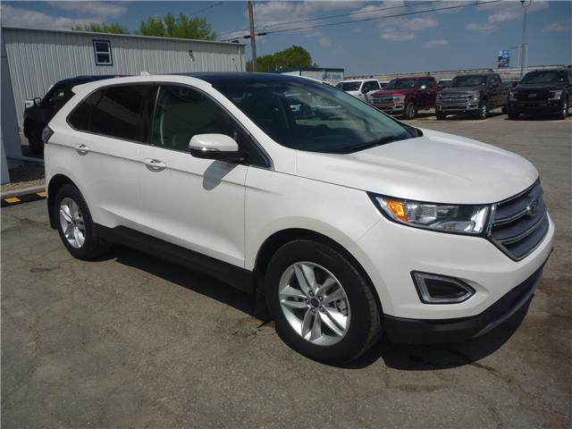 2016 Ford Edge SEL (Stk: 8236A) in Wilkie - Image 1 of 24